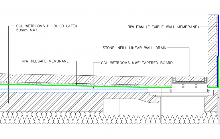 Wall Drain drawing