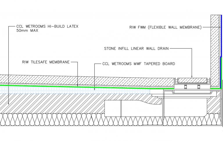 Wall Drain drawing