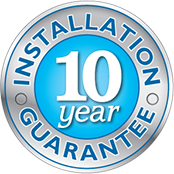 10 year installation guarantee