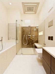 compact wet room