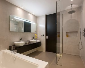 small en suite wet room